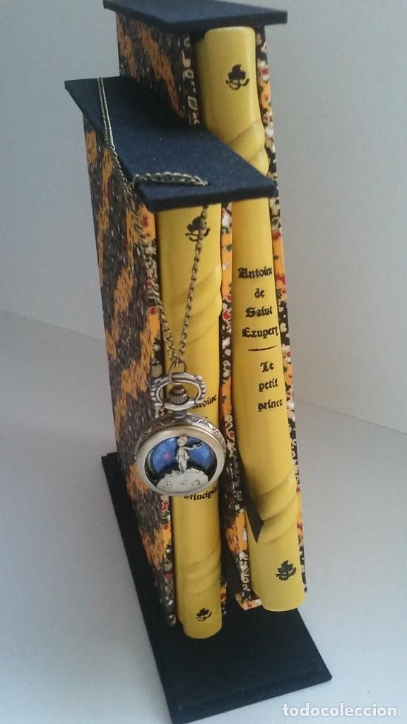 Libros antiguos: El principito y Le petit prince / Antoine de Saint-Exupéry ¡¡Único por su encuadernación artesanal! - Foto 35 - 195458177