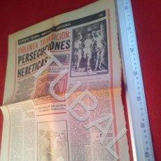 Libros antiguos: TUBAL BRUJAS Y BRUJERIA EUROPA NEGRA PABLO TORRES DIARIO PUEBLO 5 ENTREGAS COMPLET U21. Lote 195463392