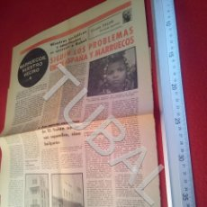 Libros antiguos: TUBAL MARRUECOS NUESTRO VECINO VICENTE TALON DIARIO PUEBLO 3 ENTREGAS COMPLET U21. Lote 195463800