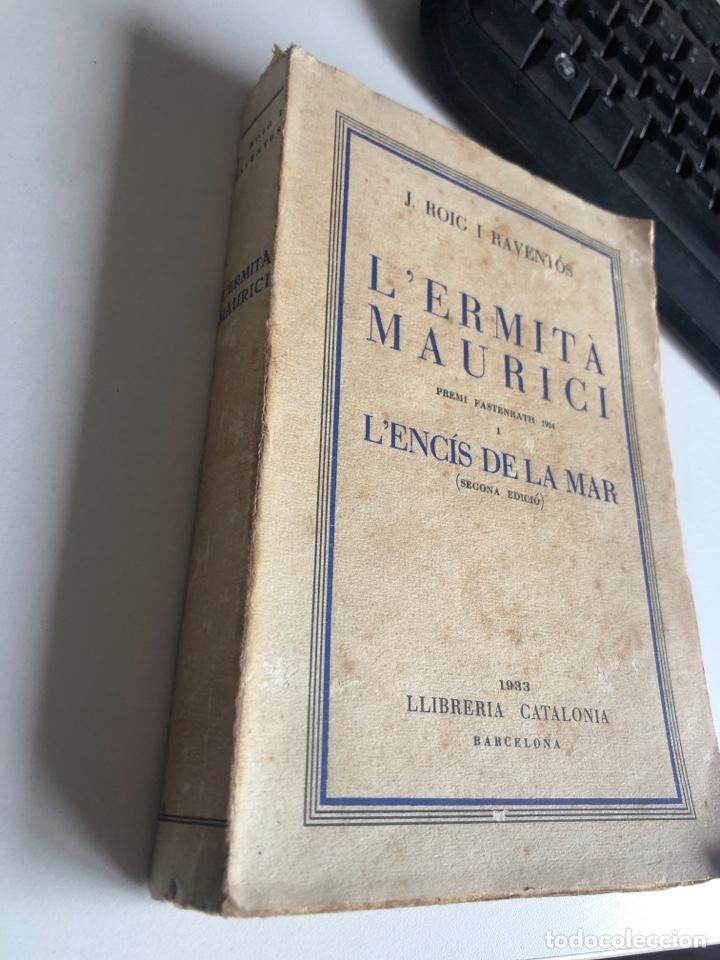 Libros antiguos: L'ermita maurici - Foto 2 - 195477873