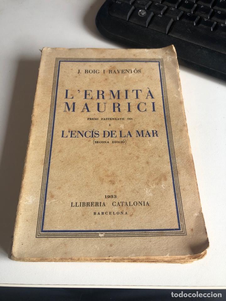 L'ERMITA MAURICI (Libros antiguos (hasta 1936), raros y curiosos - Literatura - Narrativa - Otros)