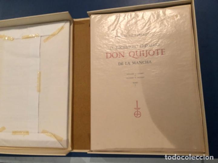Libros antiguos: El Quijote de la Mancha de Miciano - Foto 2 - 195487418