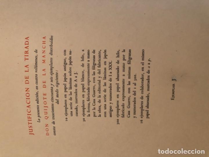 Libros antiguos: El Quijote de la Mancha de Miciano - Foto 3 - 195487418