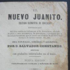 Libros antiguos: 1865 - LIBRO ANTIGUO PARA NIÑOS, EDUCACIÓN INFANTIL - GRABADOS - ASTRONOMÍA, GEOGRAFÍA, HISTORIA. Lote 195488841