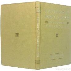 Libros antiguos: 1930 - LAS PIEDRAS PRECIOSAS EN LA JOYERÍA Y EN LA INDUSTRIA - MINERALES - ILUSTRADO. Lote 195489533