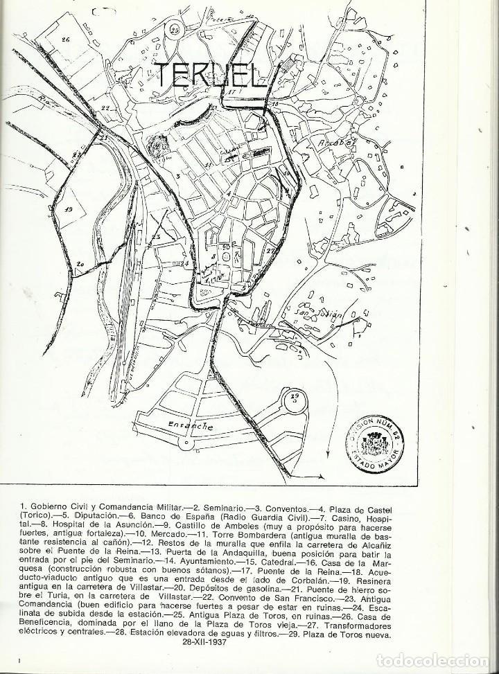 Libros antiguos: BATALLA EN LOS CAMPOS DE TERUEL. VALENTIN DAVILA JALON - Foto 2 - 195492180
