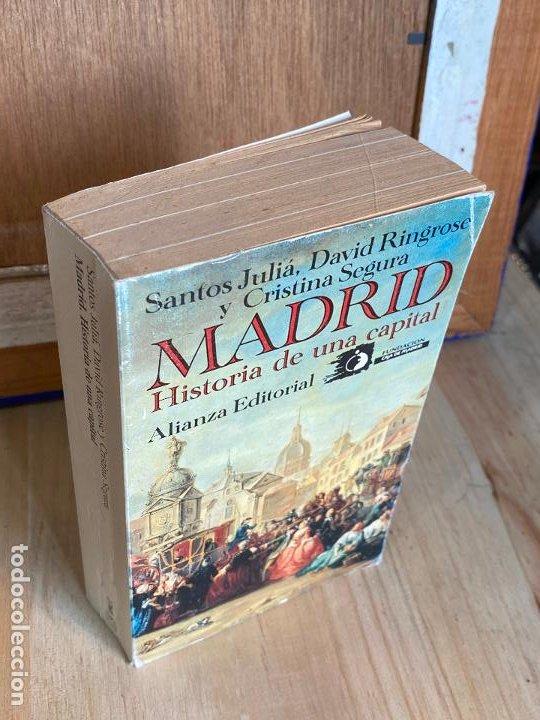 Libros antiguos: MADRID, HISTORIA DE UNA CAPITAL. SANTOS JULIÁ. DAVID RINGROSE y CRISTINA SEGURA - Foto 2 - 195510551