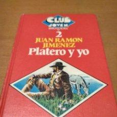 Libros antiguos: PLATERO Y YO . Lote 195513362