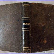 Libros antiguos: SECRETOS DE ARTES Y OFICIOS: BARNICES Y CHAROLES. LIBRO EN MINIATURA DEL SIGLO XIX.. Lote 195514026