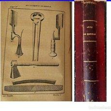 Libros antiguos: AÑO 1884. MADRID. ARTE DE HERRAR. Lote 195515131