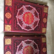 Livres anciens: EL INGENIOSO HIDALGO DON QUIJOTE DE LA MANCHA TOMO1 Y 2 .AÑO 1881 EDICION BARCELONA. Lote 195540163