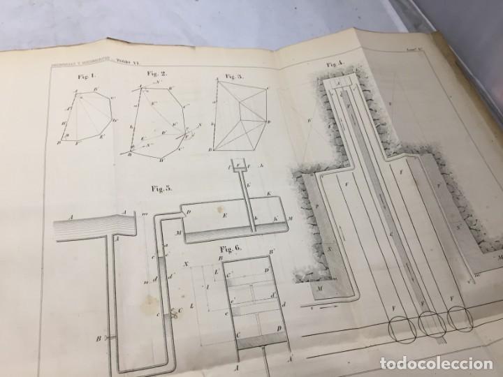Libros antiguos: MEMORIA SOBRE LOS TRABAJOS DE PERFORACION DE TUNEL DE LOS ALPES, LÁMINAS DESPLEGABLES 1863 - Foto 3 - 195614305