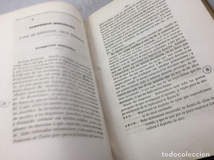 Libros antiguos: MEMORIA SOBRE LOS TRABAJOS DE PERFORACION DE TUNEL DE LOS ALPES, LÁMINAS DESPLEGABLES 1863 - Foto 5 - 195614305