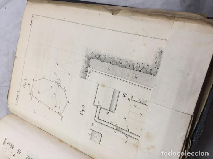 Libros antiguos: MEMORIA SOBRE LOS TRABAJOS DE PERFORACION DE TUNEL DE LOS ALPES, LÁMINAS DESPLEGABLES 1863 - Foto 6 - 195614305