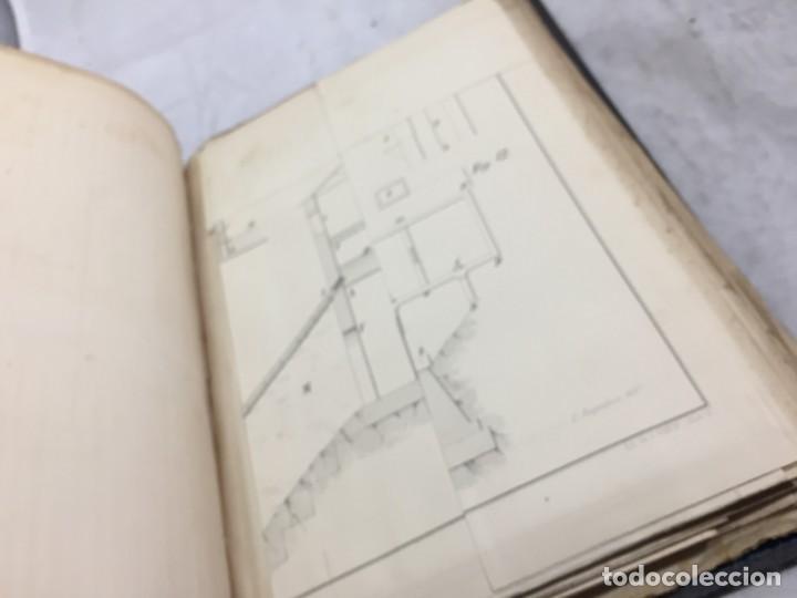 Libros antiguos: MEMORIA SOBRE LOS TRABAJOS DE PERFORACION DE TUNEL DE LOS ALPES, LÁMINAS DESPLEGABLES 1863 - Foto 7 - 195614305