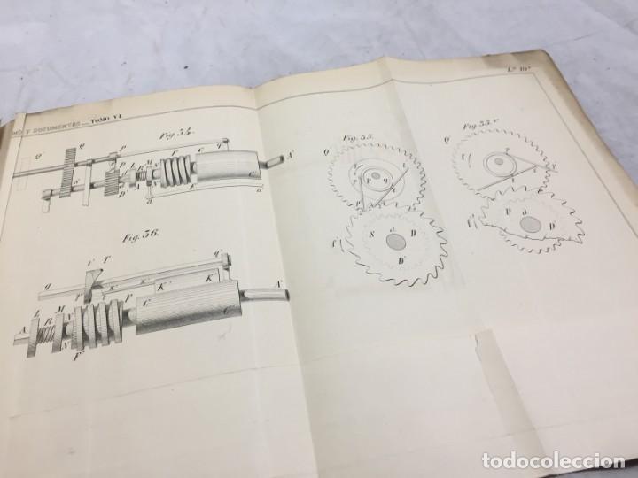 Libros antiguos: MEMORIA SOBRE LOS TRABAJOS DE PERFORACION DE TUNEL DE LOS ALPES, LÁMINAS DESPLEGABLES 1863 - Foto 11 - 195614305