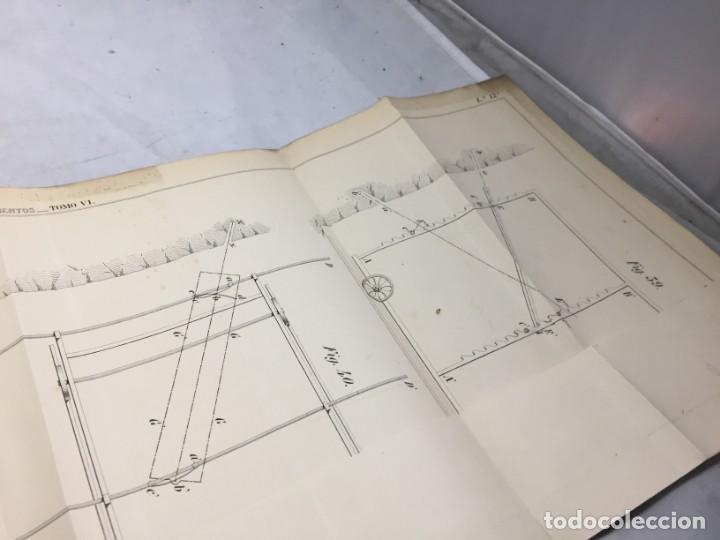 Libros antiguos: MEMORIA SOBRE LOS TRABAJOS DE PERFORACION DE TUNEL DE LOS ALPES, LÁMINAS DESPLEGABLES 1863 - Foto 12 - 195614305