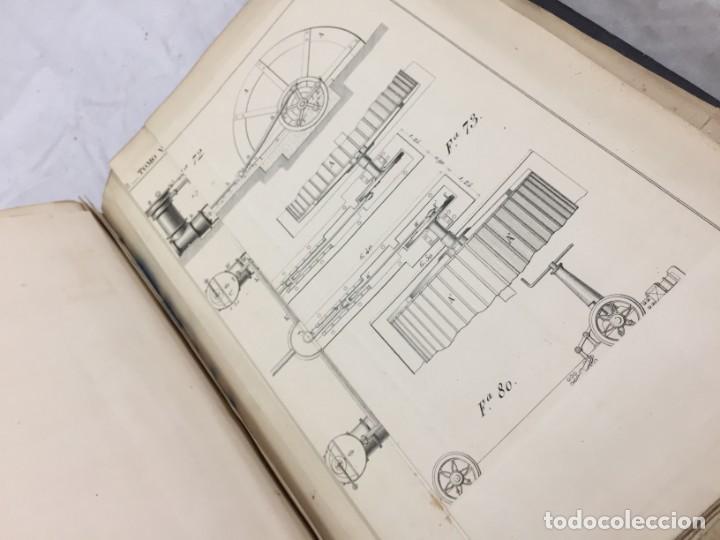 Libros antiguos: MEMORIA SOBRE LOS TRABAJOS DE PERFORACION DE TUNEL DE LOS ALPES, LÁMINAS DESPLEGABLES 1863 - Foto 14 - 195614305