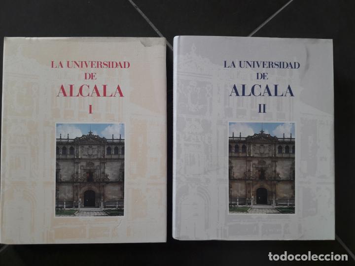 LA UNIVERSIDAD DE ALCALA. OBRA COMPLETA 2 TOMOS. COAM, UNIV. DE ALCALA DE HENARES, MADRID, 1995 (Libros Antiguos, Raros y Curiosos - Historia - Otros)