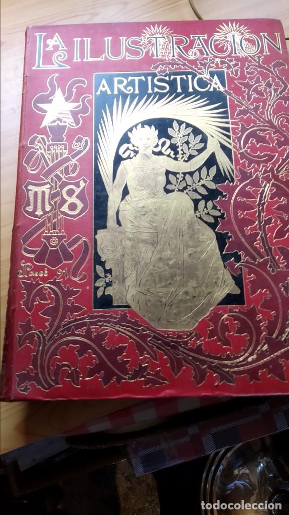 LA ILUSTRACIÓN ARTÍSTICA. LOTE DE 15 TOMOS EN BUEN ESTADO. (Libros Antiguos, Raros y Curiosos - Bellas artes, ocio y coleccionismo - Otros)