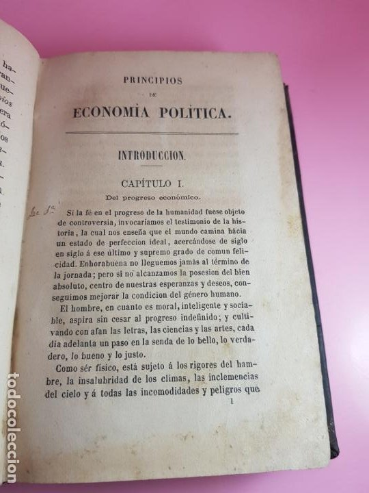 Libros antiguos: LIBRO-ECONOMÍA POLÍTICA-MANUEL COLMEIRO-1873-VER FOTOS - Foto 6 - 195672025