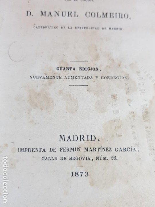 Libros antiguos: LIBRO-ECONOMÍA POLÍTICA-MANUEL COLMEIRO-1873-VER FOTOS - Foto 9 - 195672025
