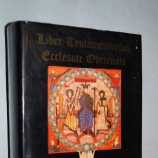 Livres anciens: LIBER TESTAMENTORUM ECCLESIAE OVETENSIS.. Lote 195717862