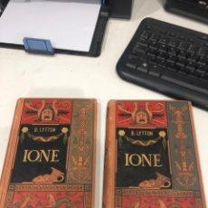 Libros antiguos: IONE. Lote 195770195