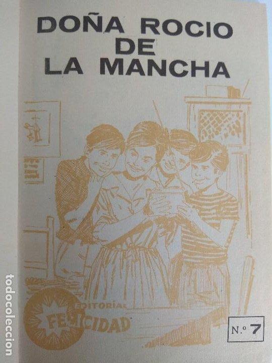 Libros antiguos: ROCIO DURCAL EN DOÑA ROCIO DE LA MANCHA 1963 EDITORIAL FELICIDAD - Foto 3 - 195848197