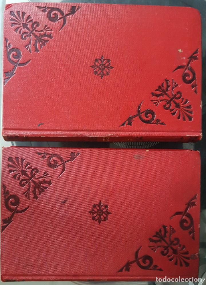 Libros antiguos: Los Cruzados - Enrique Sienkiewicz - Tapas duras - 2 Tomos - Barcelona 1901 - Raros bien conservados - Foto 2 - 195849867