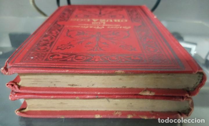 Libros antiguos: Los Cruzados - Enrique Sienkiewicz - Tapas duras - 2 Tomos - Barcelona 1901 - Raros bien conservados - Foto 5 - 195849867