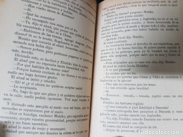 Libros antiguos: Los Cruzados - Enrique Sienkiewicz - Tapas duras - 2 Tomos - Barcelona 1901 - Raros bien conservados - Foto 9 - 195849867