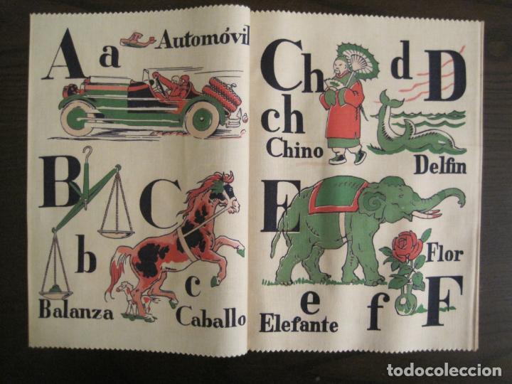 Libros antiguos: ABECEDARIO ILUSTRADO POR JUNCEDA-LIBRO ANTIGUO EN TELA-VER FOTOS-(V-19.271) - Foto 4 - 195873173