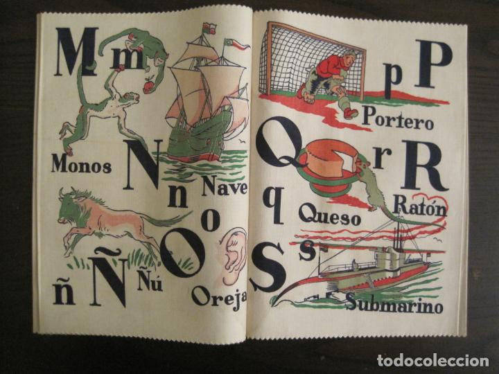 Libros antiguos: ABECEDARIO ILUSTRADO POR JUNCEDA-LIBRO ANTIGUO EN TELA-VER FOTOS-(V-19.271) - Foto 6 - 195873173