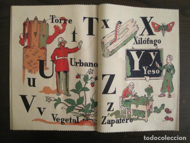 Libros antiguos: ABECEDARIO ILUSTRADO POR JUNCEDA-LIBRO ANTIGUO EN TELA-VER FOTOS-(V-19.271) - Foto 7 - 195873173