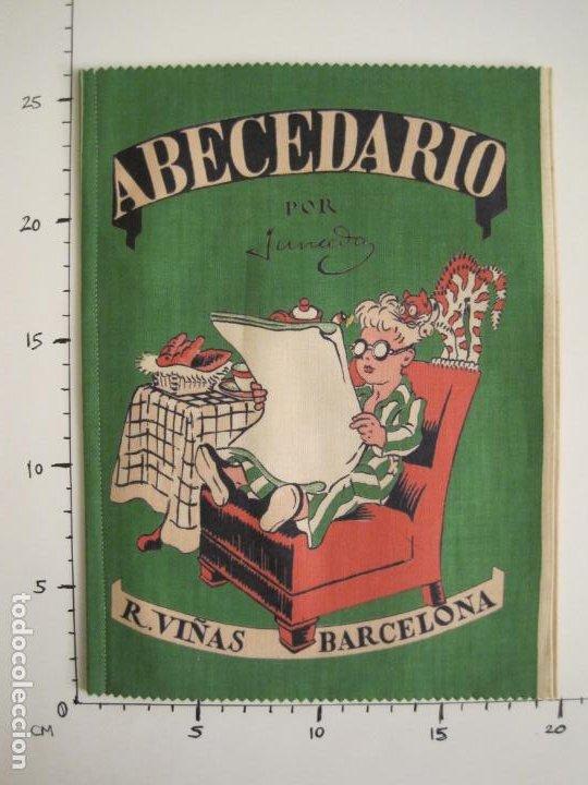 Libros antiguos: ABECEDARIO ILUSTRADO POR JUNCEDA-LIBRO ANTIGUO EN TELA-VER FOTOS-(V-19.271) - Foto 9 - 195873173