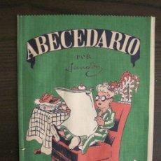 Libros antiguos: ABECEDARIO ILUSTRADO POR JUNCEDA-LIBRO ANTIGUO EN TELA-VER FOTOS-(V-19.271). Lote 195873173