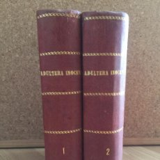 Libros antiguos: FOLLETIN - LA ADULTERA INOCENTE - EDUARDO BLASCO - 2 TOMOS - 1084 PAGINAS - GCH1. Lote 195941250