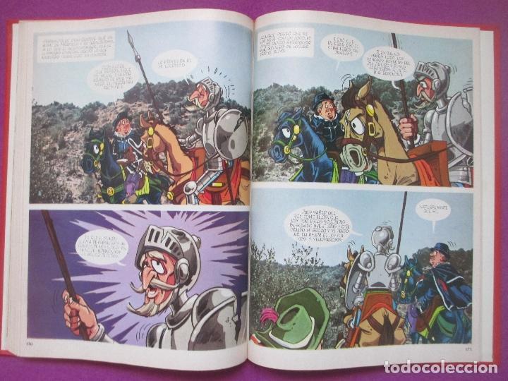 Libros antiguos: 6 TOMOS LIBROS DON QUIJOTE DE LA MANCHA ED. NARANCO 1972 MIGUEL DE CERVANTES COMIC - Foto 6 - 195968436