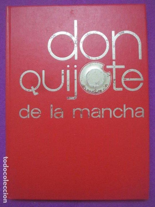 Libros antiguos: 6 TOMOS LIBROS DON QUIJOTE DE LA MANCHA ED. NARANCO 1972 MIGUEL DE CERVANTES COMIC - Foto 7 - 195968436