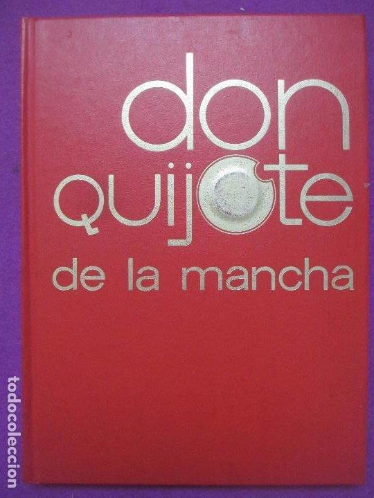 Libros antiguos: 6 TOMOS LIBROS DON QUIJOTE DE LA MANCHA ED. NARANCO 1972 MIGUEL DE CERVANTES COMIC - Foto 9 - 195968436