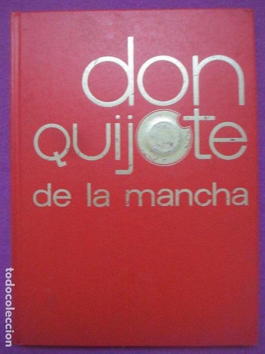 Libros antiguos: 6 TOMOS LIBROS DON QUIJOTE DE LA MANCHA ED. NARANCO 1972 MIGUEL DE CERVANTES COMIC - Foto 10 - 195968436