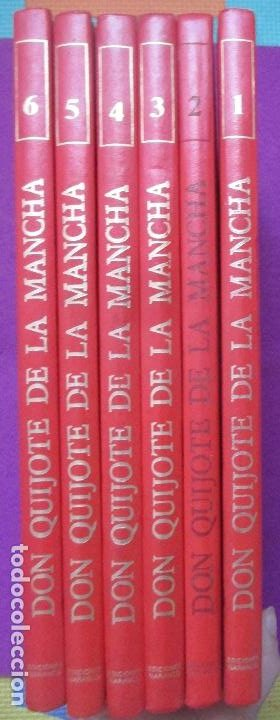 6 TOMOS LIBROS DON QUIJOTE DE LA MANCHA ED. NARANCO 1972 MIGUEL DE CERVANTES COMIC (Libros Antiguos, Raros y Curiosos - Literatura Infantil y Juvenil - Otros)
