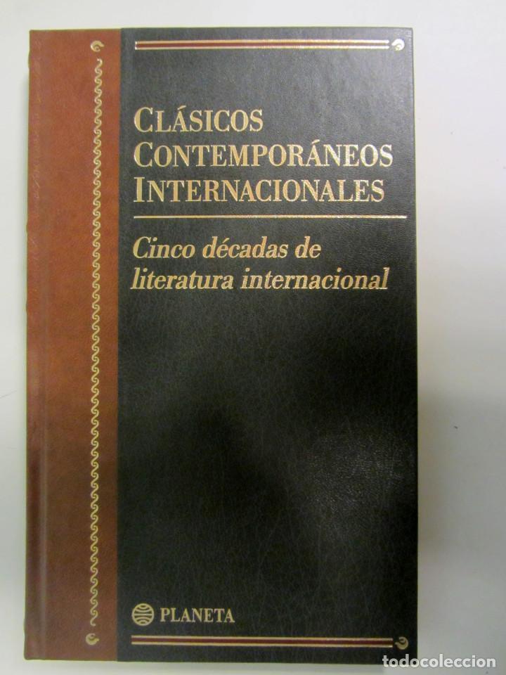 Libros antiguos: Coleción Clásicos contemporaneos internacionales. 29 tomos. Ed. Planeta 1997. Tapa dura. - Foto 7 - 195997842
