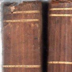 Libros antiguos: REVISTA MENSUAL DE AGRICULTURA. DIRIGIDO POR D. AUGUSTO DE BURGOS. DOS TOMOS. 1850.. Lote 196037562