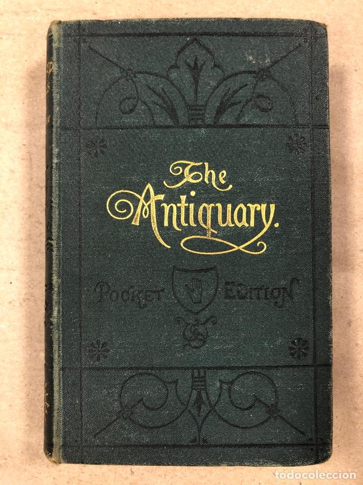 Libros antiguos: BAVERLEY NOVELS. LOTE DE 6 LIBROS DE 1873: GUY MANNEIRO, THE ANTIQUARY, IVANHOE, KENILWORTH,... - Foto 6 - 196067176