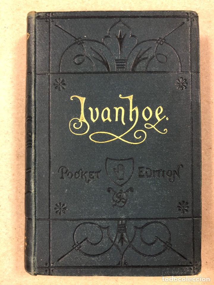 Libros antiguos: BAVERLEY NOVELS. LOTE DE 6 LIBROS DE 1873: GUY MANNEIRO, THE ANTIQUARY, IVANHOE, KENILWORTH,... - Foto 10 - 196067176