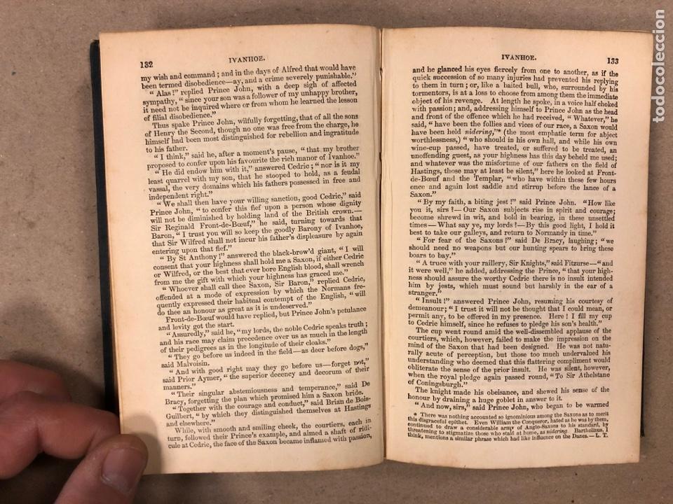 Libros antiguos: BAVERLEY NOVELS. LOTE DE 6 LIBROS DE 1873: GUY MANNEIRO, THE ANTIQUARY, IVANHOE, KENILWORTH,... - Foto 12 - 196067176