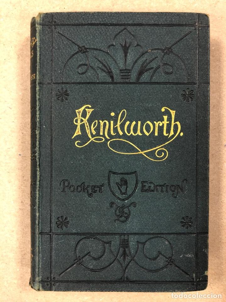 Libros antiguos: BAVERLEY NOVELS. LOTE DE 6 LIBROS DE 1873: GUY MANNEIRO, THE ANTIQUARY, IVANHOE, KENILWORTH,... - Foto 14 - 196067176