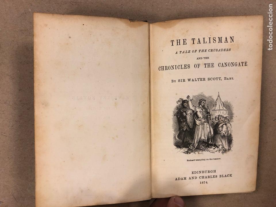 Libros antiguos: BAVERLEY NOVELS. LOTE DE 6 LIBROS DE 1873: GUY MANNEIRO, THE ANTIQUARY, IVANHOE, KENILWORTH,... - Foto 19 - 196067176